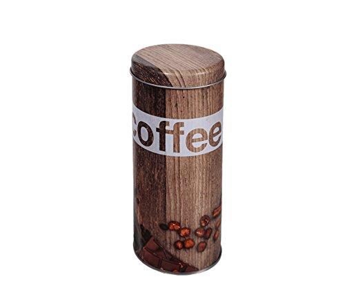 OOTB Kaffeedose/Vorratsdose für Kaffeebohnen, Kaffeepulver, Kaffeepads, Tee, Kakao – Vintage...