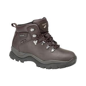 41VMddH57YL. SS300  - Mirak Boys Nebraska Boys Hiker Crazy Horse Waterproof Lace Up Hiking Boot