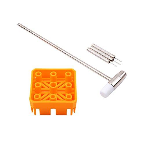 L_shop F¨¹nfteiliges Band-Einstellwerkzeug Band Link Hammer Punch Pin Uhrenarmband-Entferner Uhr Reparatur-Tools Kit