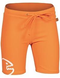 iQ-Company UV 300  - Pantalones cortos de natación para niños, color naranja, talla 104 cm