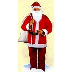 CoolParty - Disfraz de Papá Noel para hombre, talla única (K117-001)