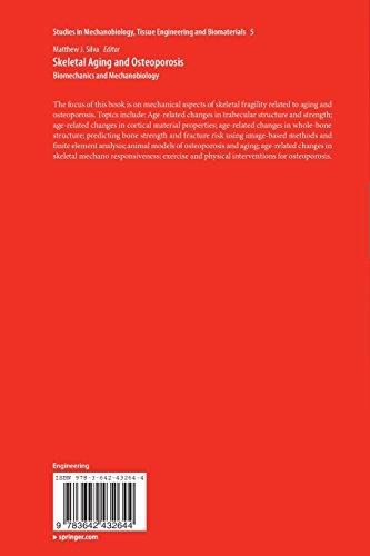 Skeletal Aging and Osteoporosis: Biomechanics and Mechanobiology (Studies in Mechanobiology, Tissue Engineering and Biomaterials)