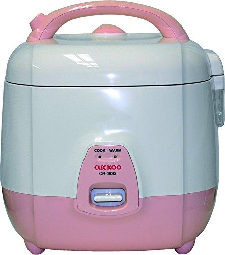 CUCKOO T07-13-0036 Reiskocher, 1,08 Liter,  weiß/rosa