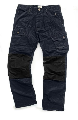 Preisvergleich Produktbild Scruffs Drezna Strapazierfähige Industrie-/ Arbeitshose aus Jeansstoff, 76,2-101,6 cm Breite, 81,28 cm Länge 32