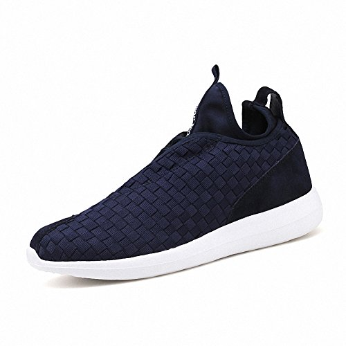 Ben Sports Chaussures de running sport Chaussures de ville à lacets homme Bleu