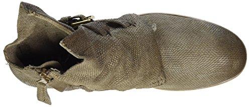 Mjus Damen 884210-0201 Biker Boots Grau (Fossile)