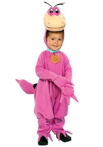 Dino Kinderkostüm aus Familie Feuerstein, Größe:S (Kostüm Flintstones Dino)