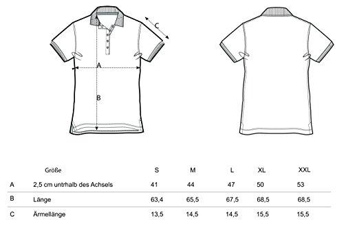 Damen Poloshirt aus 95% Biobaumwolle und 5% Elastan, Poloshirt Damen Baumwolle (Bio), Damen Polo-Piqué Bio, Polo Shirts Bio, Damen Polohemd Bio Heather Grey