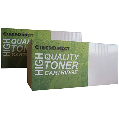 2 CiberDirect HIGH YIELD Compatible Laser Toner Cartridges To Replace Brother TN2320 (2,600 Pages Each). Also replaces low yield TN2310 cartridges.