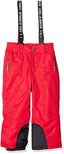 Ticket To Heaven Ticket To Heaven Mädchen Schneehose Skihose Aspen, Rot (Barberry 2025), 104