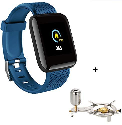 Explopur SmartWatch - IP67 Impermeabile Color Screen Touching Sports Fitness Orologio - 1,3 Pollici BT Smartwatch con frequenza cardiaca Monitoraggio della Pressione sanguigna