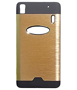Light weight back cover for Lenovo A7000 color Gold