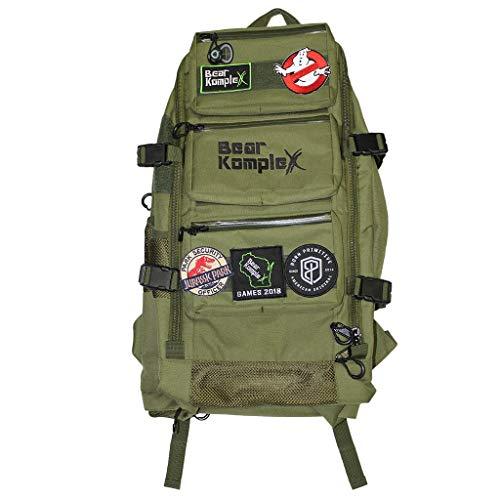 Bear KompleX Bär abwehrsteigerung komplex Military 3 Tag Tactical Rucksack für Wandern, Jagd, Fitness, Camping, und Outdoor. 1000D Nylon Rucksack (Green) (3-tages-rucksack)