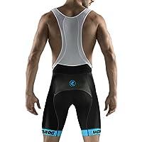 Uglyfrog MTB Ropa Ciclismo Culote Corto con Tirantes Y Badana Gel Culotte para MTB Ciclistas Hombre Culote MTB Pantalones Cortos