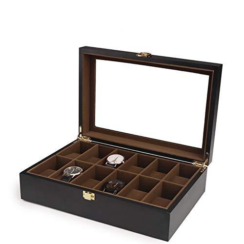 WWJIE Caja para Relojes,Reloj mecánico