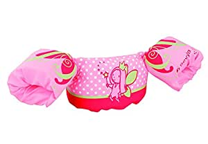 Sevylor Kinder Schwimmhilfe Puddle Jumper Deluxe, pink (Fee), 39 x 36 x 12 cm, 2000009562