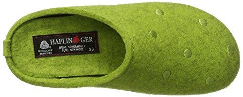 Haflinger - Everest Noblesse, Pantofole Unisex – Adulto Grün