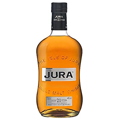 The Isle of Jura 21 Year Old Single Malt Scotch Whisky 70cl Bottle