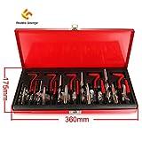 Madlife Garage High Quality 131pc Thread Repair Kit Set M5 M6 M8 M10 M12 Metric