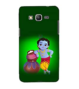 printtech Lord God Krishna Back Case Cover for Samsung Galaxy Grand Prime G530h