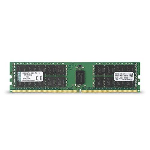Galleria fotografica Kingston KVR24R17D4/16 Memoria RAM, 2400 MHz, DDR4, 16 GB