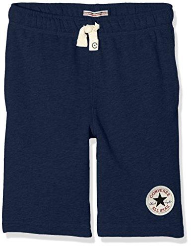Converse French Terry, Shorts Bambino, Blu (Navy), 6-7 anni (Taglia Produttore: 6-7Y)