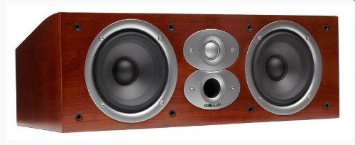 Polk Audio CSi A4 Center-Lautsprecher, kirsch