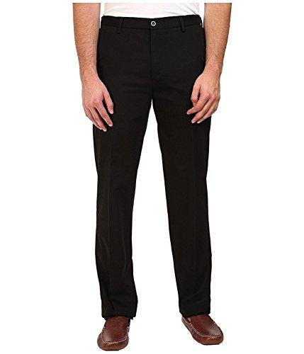 Herren Dockers-style Hose (Dockers Mens Big and Tall Signature Stretch Khaki Flat Pant - Black (42W x 34L))