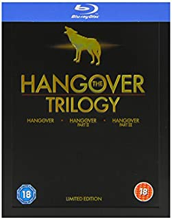 The Hangover Trilogy - Limited Edition Steelbook [Blu-ray] [2013] [Region Free] (B00EAK9N0Y) | Amazon price tracker / tracking, Amazon price history charts, Amazon price watches, Amazon price drop alerts