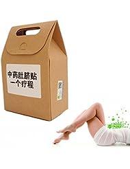 ILOVEDIY 30Pcs 3Packs Brûleur de Graisse Abdominale Femme Homme Médecine  Chinoise Traditionnelle Nombril Autocollant et 7eba6a22e33