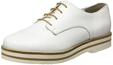 Coolway Damen Avocado Derby-Schuhe, Weiß (White), 40 EU