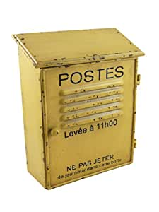 lamaisonhenri cassetta per chiavi in stile vintage a forma di cassetta delle lettere francese. Black Bedroom Furniture Sets. Home Design Ideas