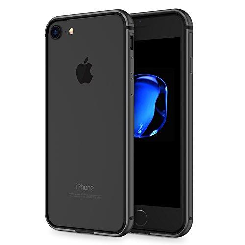 ranvoo-armor-iphone-7-case-aluminum-bumper-case-black