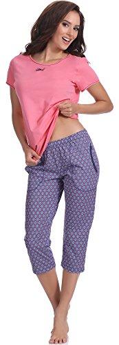 Italian Fashion IF Pyjama Femme Nancy 0225 Rose
