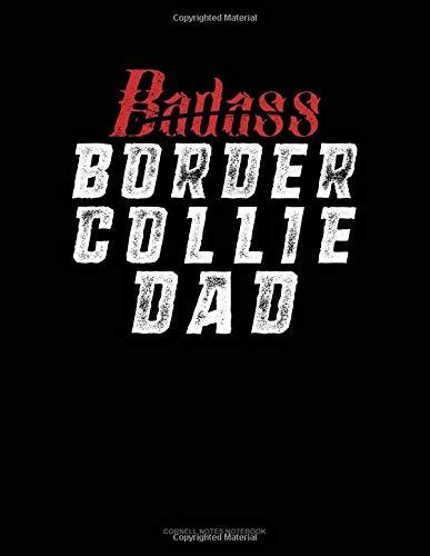 Badass Border Collie Dad: Cornell Notes Notebook por Jeryx Publishing