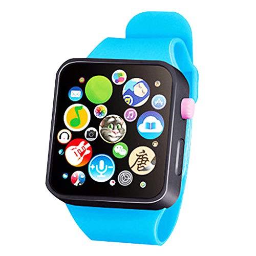 Early Learning 3D-Touchscreen, Smart-Armbanduhr, Tier-Farm Tastatur, elektrisches Klavier, Kinderspielzeug, Geschenk für 3-6 Jahre alte Babys, 1 ()