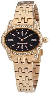 Pierre Cardin Damen-Armbanduhr Charme Analog Quarz Edelstahl beschichtet PC104202F08