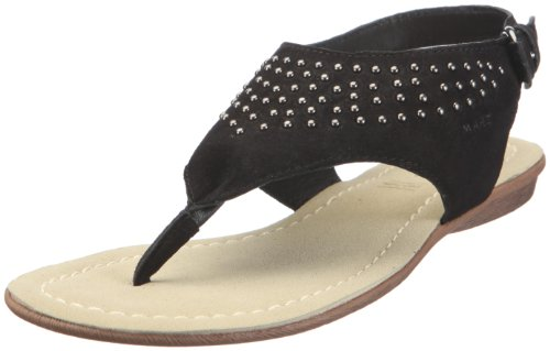 Marc Shoes 1.450.09-21/100, Flip flop donna Nero