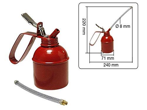Ölkanne 300 ml mit Pumpe und flexiblen Schlauch -
