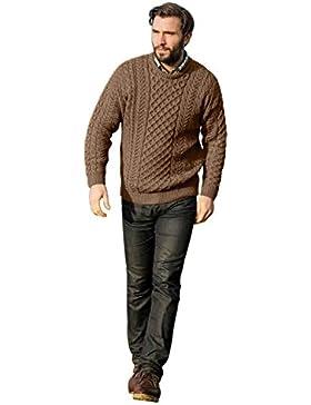 Jersey de lana de merino Aran–baínín