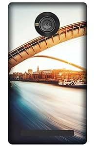 iessential bridge Designer Printed Back Case Cover for YU Yuphoria YU5010A