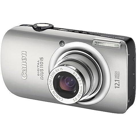 Canon Digital Ixus 110 Is - Fotocamera Digitale - Compatta - 12.1 Mpix - Zoom Ottico: 4 X - Memoria Supportata: Mmc, Sd, Scheda Di Memoria Sdhc, Mmcplus - Argento