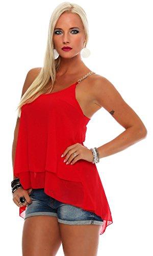 Fashion Moda - Canotta -  donna Rot
