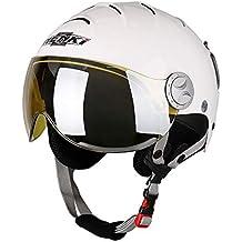 NENKI Casco de esquí con Visera para Deportes de Nieve, esquí, Snowboard, Cascos