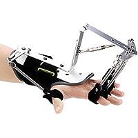 Enstellbare equipo de entrenamiento ortesis de muñeca del dedo, dedos de formación rehabilitación de la mano de refuerzo para el ejercicio hemiplejía tendón de impacto