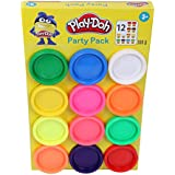 PLAY-DOH Party Pack of 12 Non-Toxic Colours for Kids 2 Years and Up