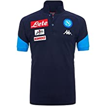 2017-2018 Napoli Cotton Polo Shirt (Navy)