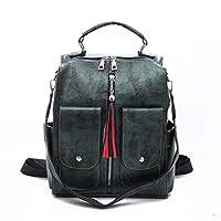 Mode PU Women's rugzak Lichtgewicht Daypack Anti-Theft Bags, Faux Leather Travel Bag Schooltassen Rugzak (Pendant) (Color : B)