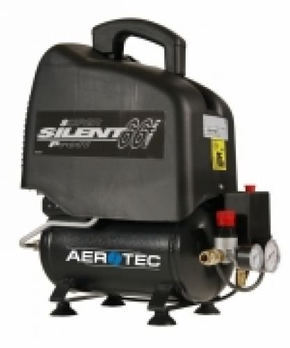 Aerotec Vento Silent 6 Druckluft-Kompressor Kessel-Inhalt 6 l 8 bar