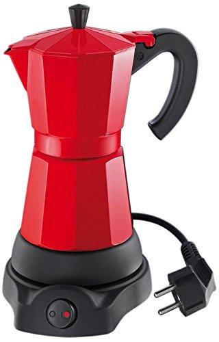Cilio Classico - Cafetera eléctrica (6 tazas), rojo